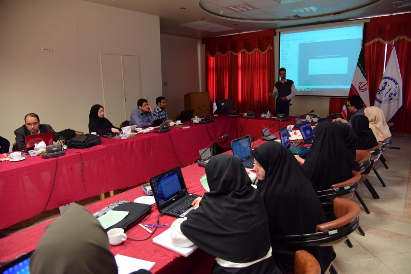 Mendeley Presentation in Iran
